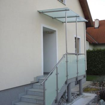 Brüstungs- und Dachverglasung