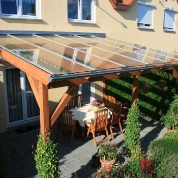 Dachverglasung Terasse