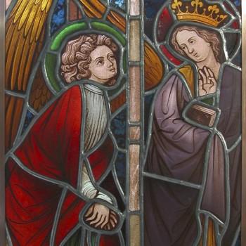 historische Glasmalerei
